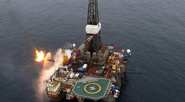 The Providence Resources oil rig operating in Barryroe, 50km from Co Cork