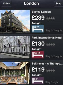 <b>1. HotelTonight</b><br/> <b>Free, iOS and Android</b><br/> If you have tickets for an event, chances are you'll have booked a hotel. But if not, you can use this new app to find discounted, last-minute rooms across the Olympic cities.