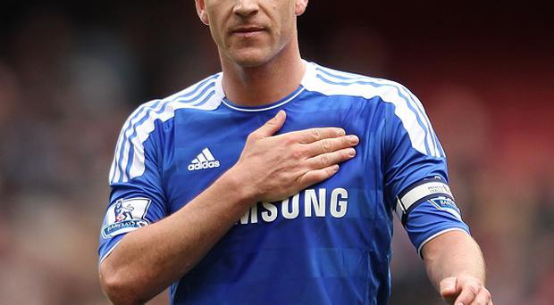 Chelsea's John Terry is glad to be back on the pitch