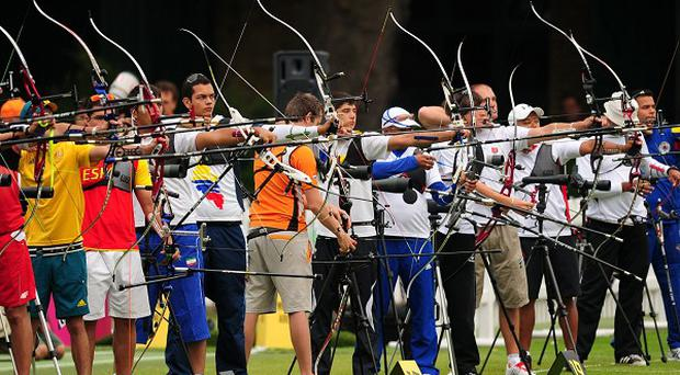 The Olympic archery events are being held at Lord's cricket ground