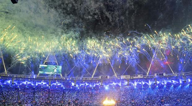 A UK TV audience of 26.9 million people watched the London 2012 Olympic Games opening ceremony, according to the BBC