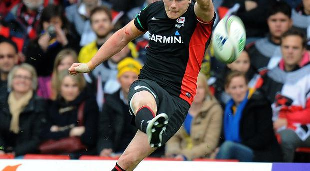 Owen Farrell and his Saracens team-mates are moving to a new stadium