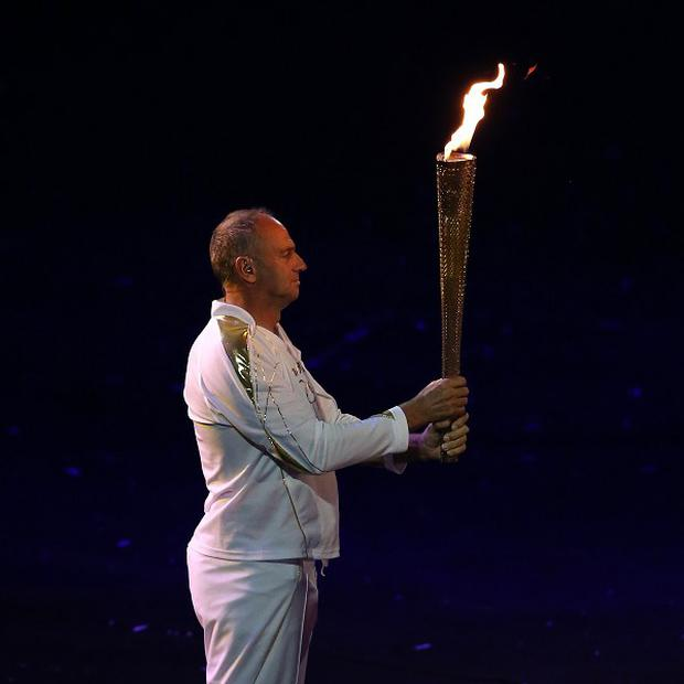Sir Steve Redgrave has admitted he was 'a little disappointed' that he was not picked to light the flame at the Olympics opening ceremony