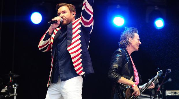 Duran Duran perform at the BT London Live concert in Hyde Park, London