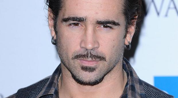 Colin Farrell says he has come to enjoy clean living