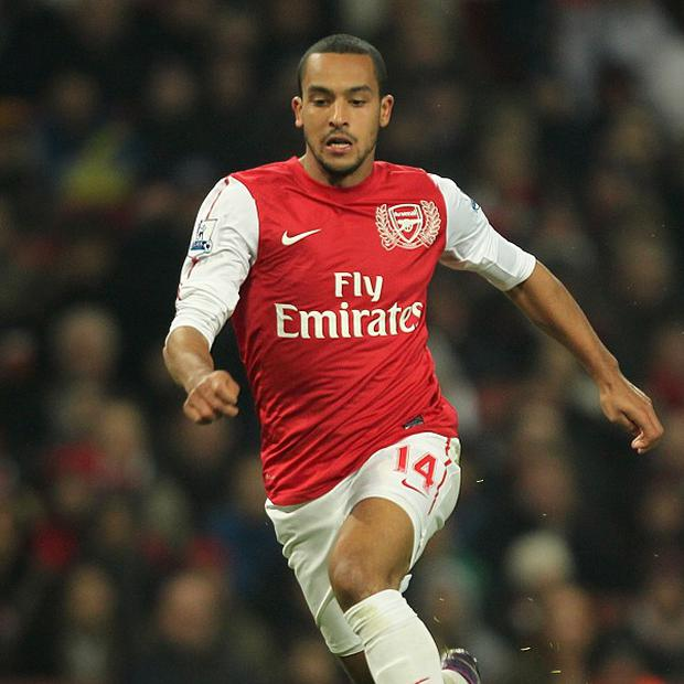 Theo Walcott netted Arsenal's first equaliser