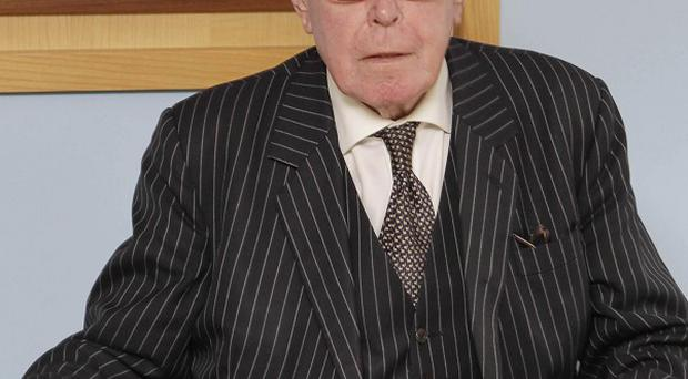 Judge Peter Smithwick chairs the tribunal into the murder of two senior RUC officers