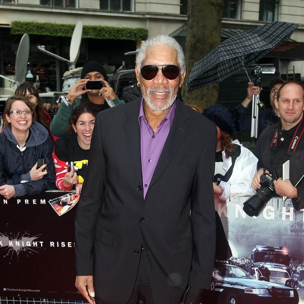 Morgan Freeman said he feels 'very proud' to have been part of the Batman films