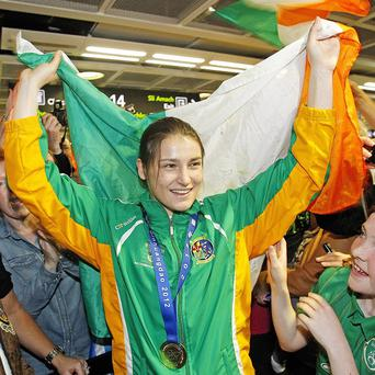 Irish boxing star Katie Taylor chosen for flagbearer honour