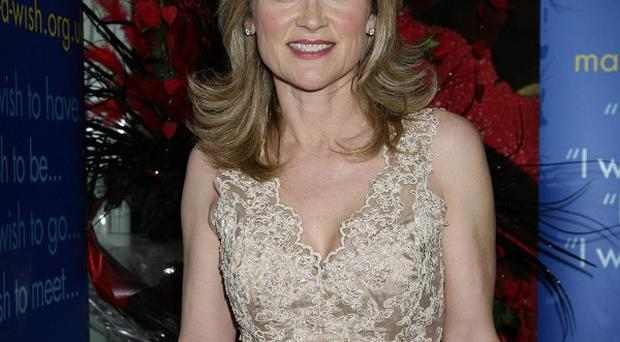 Anthea Turner has said she is 'heartbroken' over claims her husband had an affair