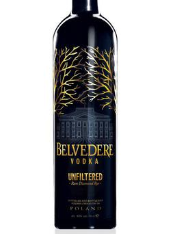 1. Belvedere Unfiltered £43.99, thedrinkshop.com It divides drinkers, Belvedere – some find it too subtle. But there is much to like in this diamond rye vodka which doesn't go through a final filtration.