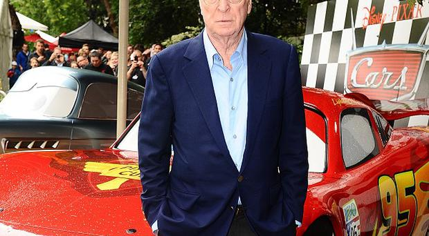 Sir Michael Caine admitted he has Googled his own name