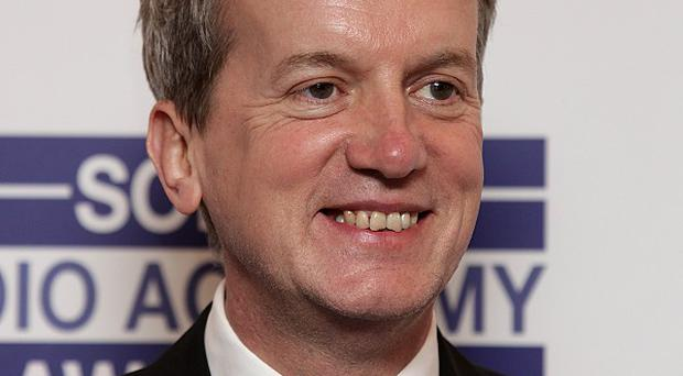 Frank Skinner is dad to two-month-old Buzz Cody