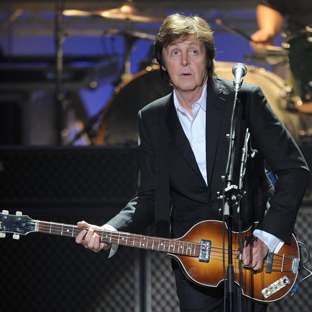 Paul McCartney was paid just one pound to perform at the Olympic opening ceremony