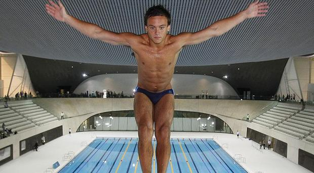 Tom Daley's father Rob died last year from brain cancer