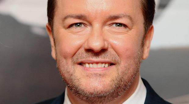 Ricky Gervais has revealed his plans for an internet series that will teach English