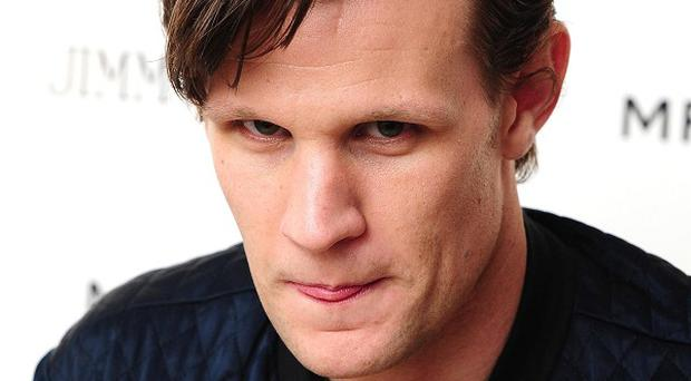Matt Smith plays the current Doctor Who on BBC1