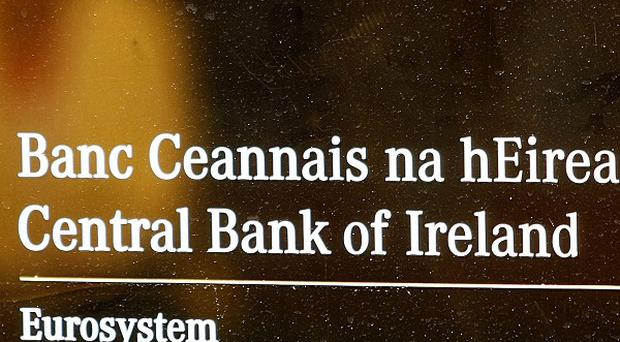 The Central Bank of Ireland said the Government is ahead of target in some of its spending