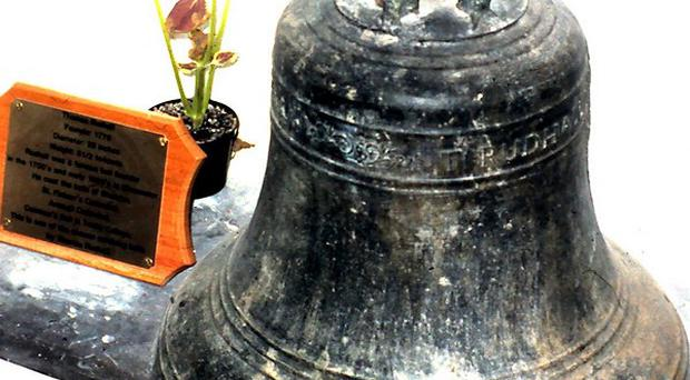A priceless bronze bell believed to weigh anything up to 28 stone has been stolen from a former church in Co Kerry