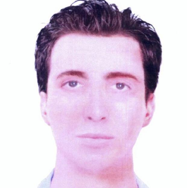 A computer-generated image of the suicide bomber who killed Israeli tourists in Bulgaria (AP)