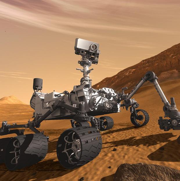 The Mars rover Curiosity is designed to search for clues about possible past life on the Red Planet (AP/Nasa/JPL-Caltech)
