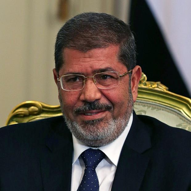 Egyptian president Mohamed Morsi (AP/Mark Wilson)