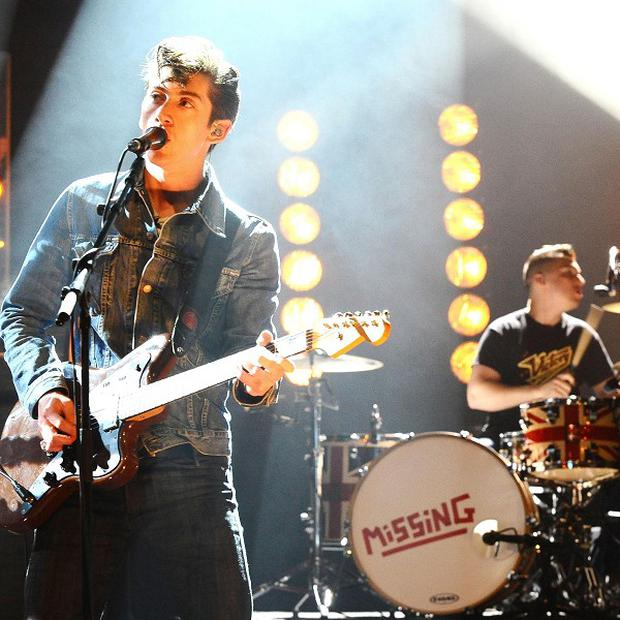 The Arctic Monkeys performed at the Olympics opening ceremony