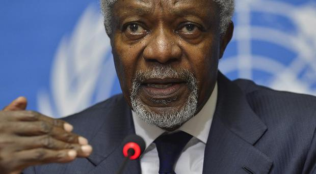Kofi Annan has said he is quitting as special envoy to Syria (AP)