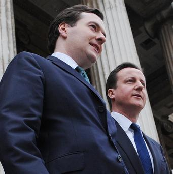 PM David Cameron says George Osborne will still be Chancellor at the next election