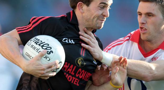 Pivotal: Mark Poland has been a central figure in Down's run to their All-Ireland quarter-final clash with Mayo