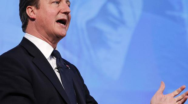 David Cameron said London is 'open for business' during the Olympics