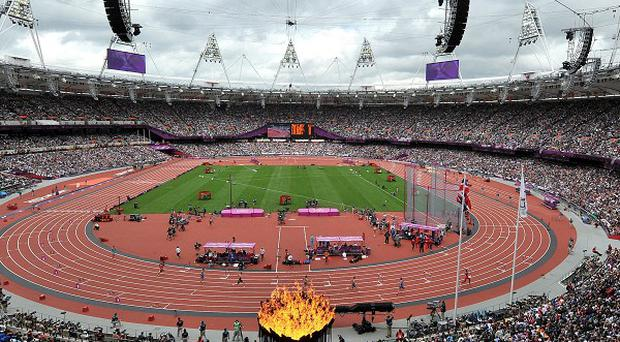 The IAAF president said the 'totally packed' Olympic Stadium shows the affection Britian has for athletics