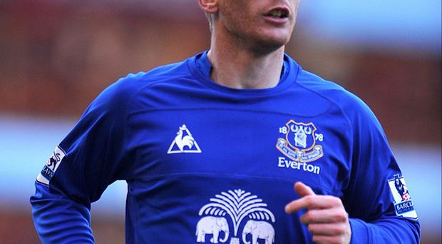 Tony Hibbert has played 265 times for Everton
