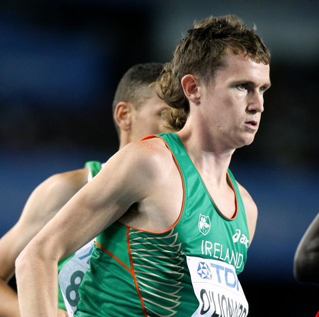 Ciaran O'Lionaird was incredibly disappointed to finish second last in his heat
