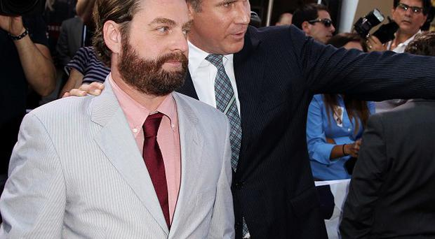Zach Galifianakis and Will Ferrell play duelling politicians in The Campaign