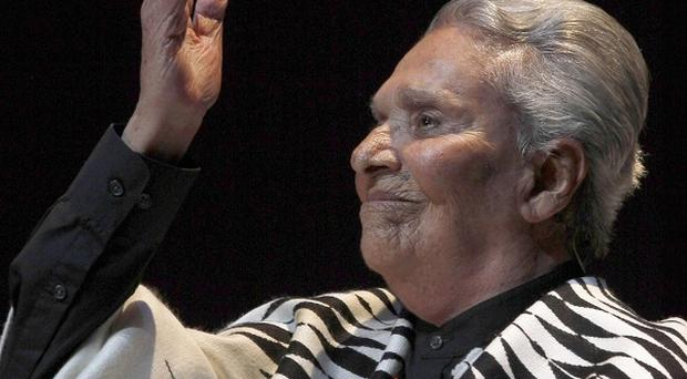 Mexican singer Chavela Vargas, born in Costa Rica, has died aged 93 (AP/Marco Ugarte)