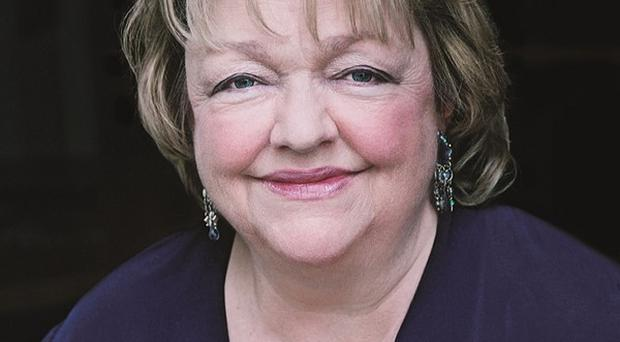 Hundreds of mourners turned out for the funeral of Irish best-selling novelist Maeve Binchy