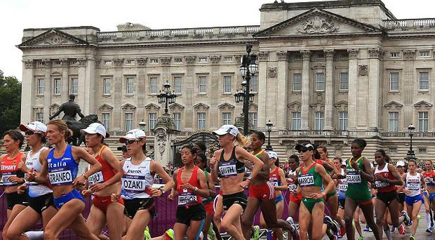 Linda Byrne came home 66th in the Olympic marathon