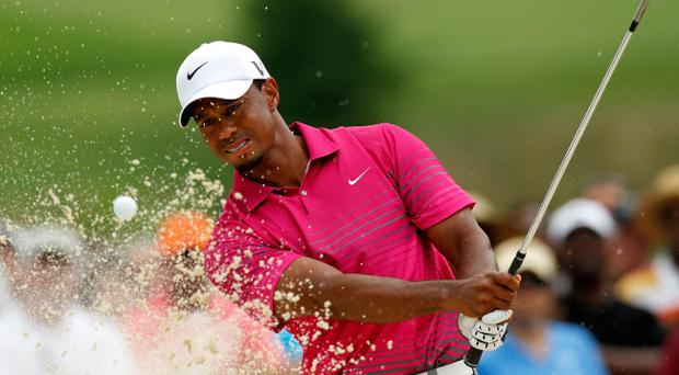 The US Ryder Cup team will be hoping for a big performance from Tiger Woods who is back up to number two in the world rankings