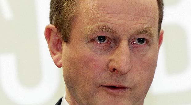 Enda Kenny said London-based firm The Lafferty Group is planning a base in Westport, creating 40 jobs
