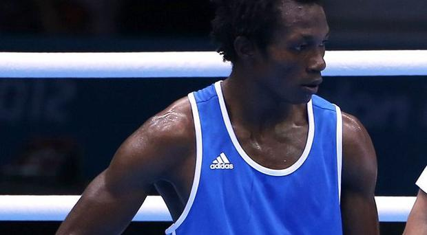 Boxer Thomas Essomba is one of seven Cameroonian athletes who have gone missing from the Olympic village