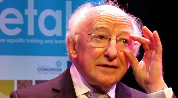 Michael D Higgins has lead tributes to the late Con Houlihan