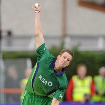 Boyd Rankin is available to represent Ireland in the World Twenty20 in September