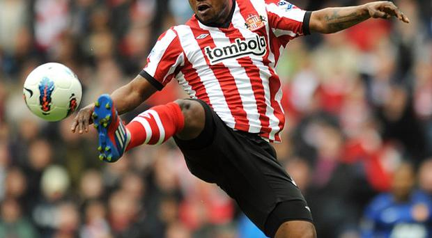 Stephane Sessegnon is set to have a scan on his ankle