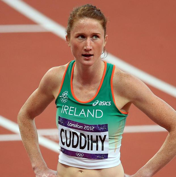 Joanne Cuddihy failed to qualify for the 400m final