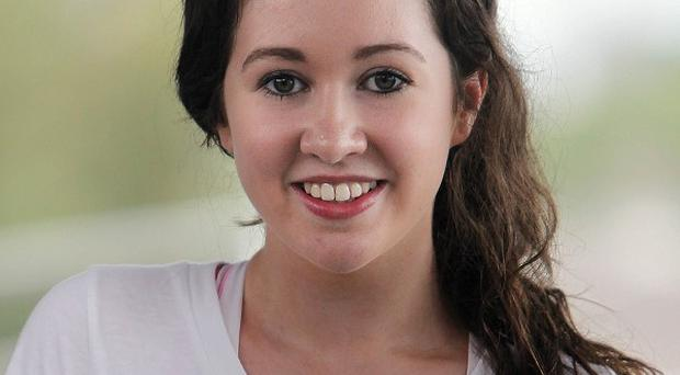 Elisha Coleman at rehearsals for Take The Floor 2012 at the Helix in Dublin