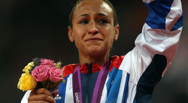 Jessica Ennis's win in the Olympic heptathlon had Britons weeping