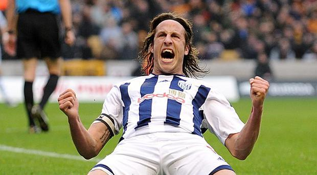Jonas Olsson is in the final year of his current West Brom deal