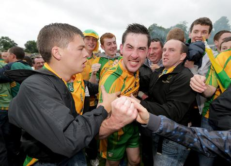 Mark McHugh is at the heart of the Donegal side bidding for All Ireland glory