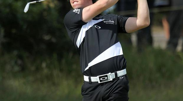 Rory McIlroy figured high on the leaderboard on the opening day of the USPGA Championship